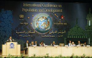 Weltbevölkerungskonferenz in Kairo 1994