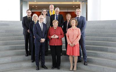 VENRO-Vorstand trifft Bundeskanzlerin