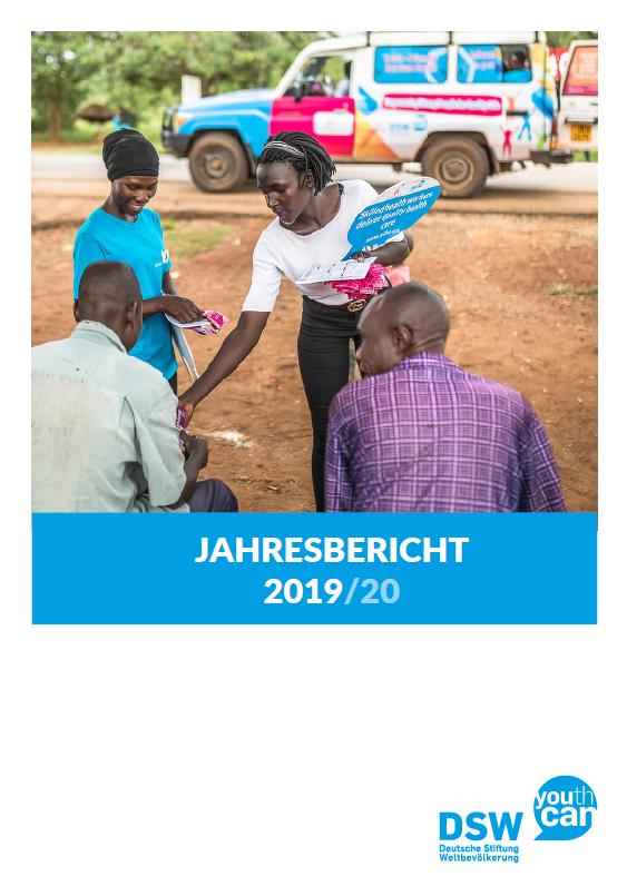 Cover Jahresbericht 2017 / 18 der DSW
