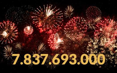 Weltbevölkerung zum Jahreswechsel 2020/ 2021 – 7.837.693.000 Menschen leben auf der Erde