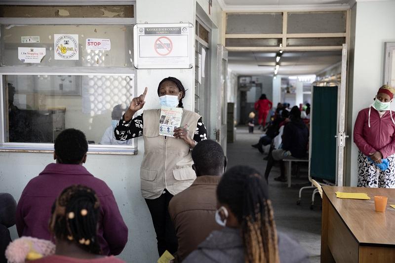 Tuberkulose: Leben retten und Hoffnung geben in Corona-Zeiten
